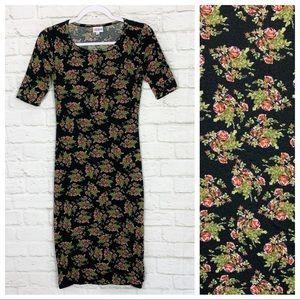 Lularoe Julia Dainty Floral Short Sleeve Dress XXS